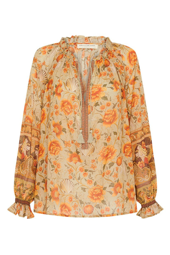 Seashell Blouse