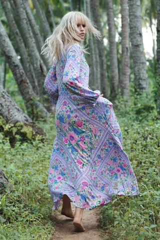 Anja Konstantinova wears Spell Designs Babushka Mary-Kate Maxi Dress
