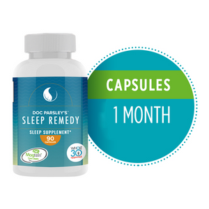 Sleep Remedy Capsules - One Month