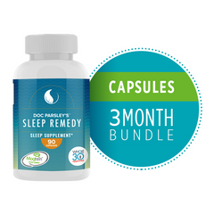 Sleep Remedy Capsules - Pre-Paid 3 Months (Ships Monthly)