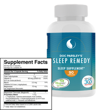 Load image into Gallery viewer, Sleep Remedy Capsules - One Month