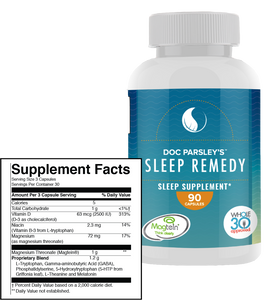Sleep Remedy Capsules - 3 Months Supply (Ships Monthly)