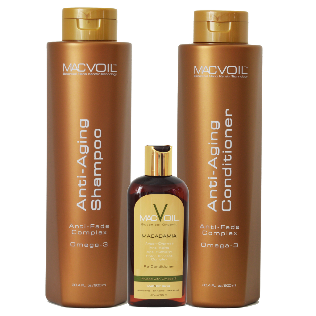 Macvoil Gift Set with Macadamia Oil | 30oz bottle | SH Salons
