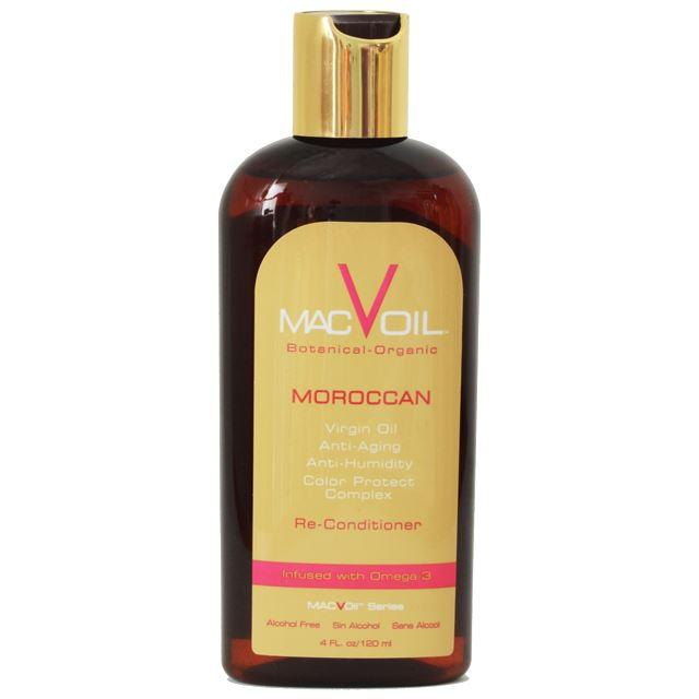 Moroccan Re-Conditioner HAIR OIL MACVOIL 4 OZ
