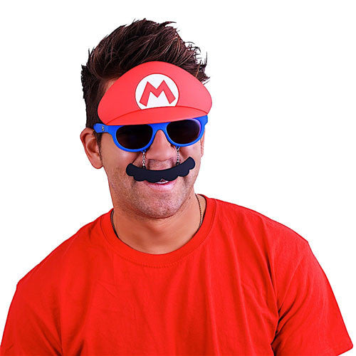 "Super Mario ""Super Mario Brothers"" #SunStaches"