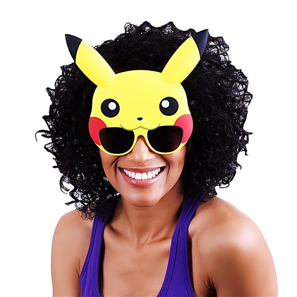 "Pikachu ""Pokémon"" #SunStaches"
