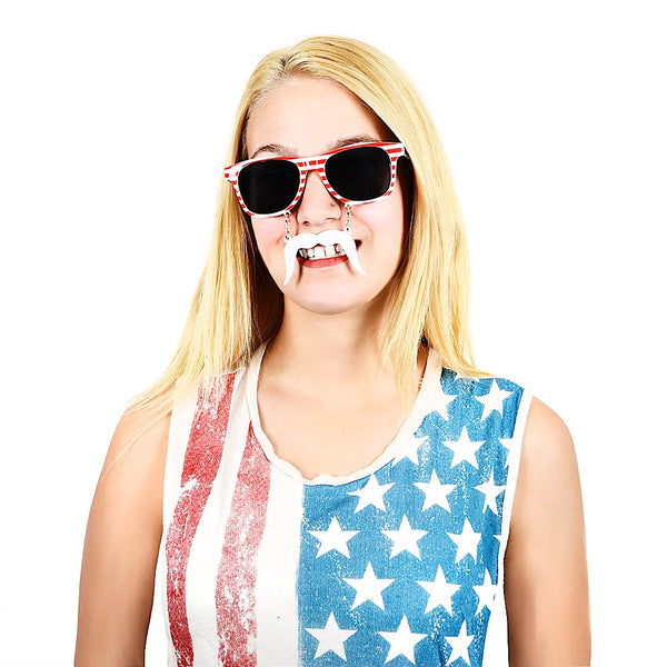 Stars and Stripes Sun-Staches®