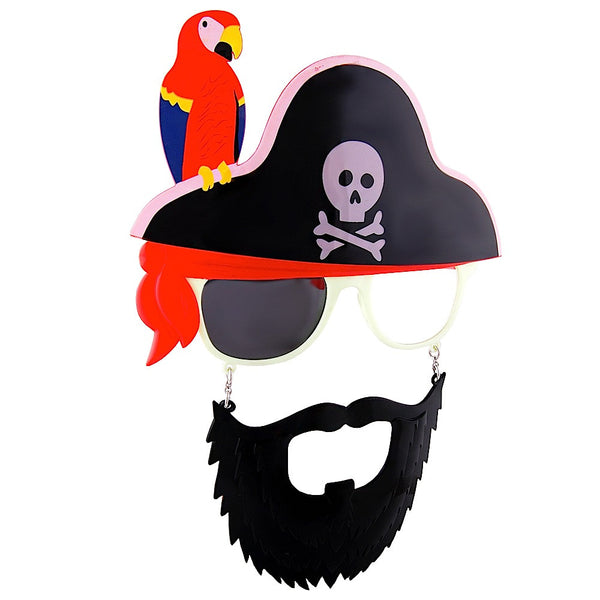 Pirate and a Parot #SunStaches