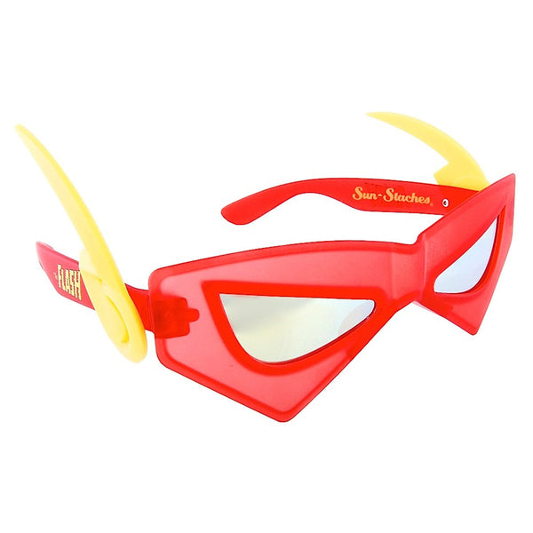 Go incognito in these Flash Sun-Staches. Notice: Supersonic speed impossible