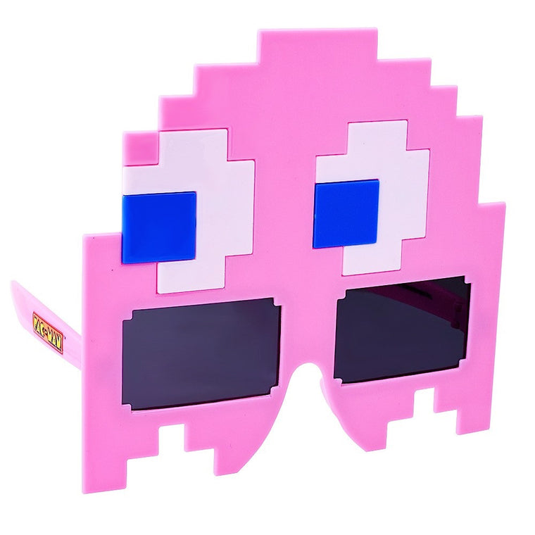 Pink Ghost Pac-Man Sun-Staches®