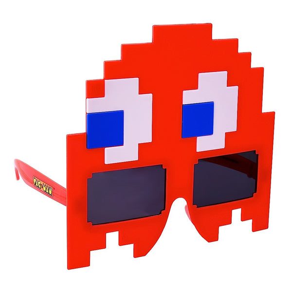 Red Ghost Pac-Man Sun-Staches®