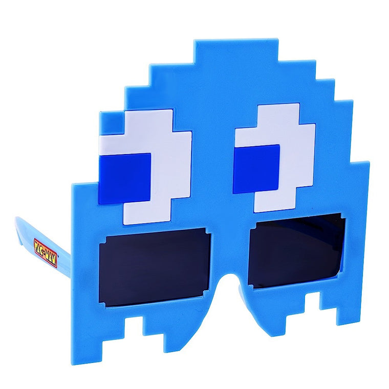 Blue Ghost Pac-Man Sun-Staches®