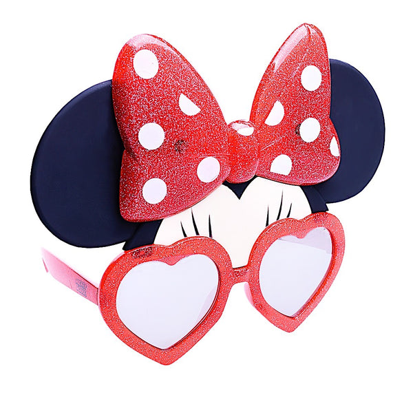 Disney's Red Glitter Minnie Mouse Sun-Staches®