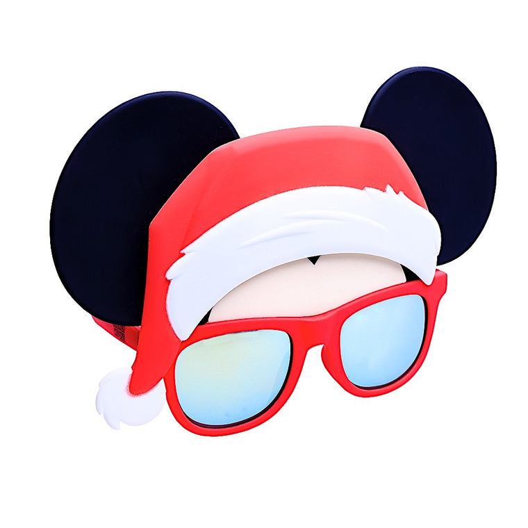 Santa Hat Mickey Sun-Staches®