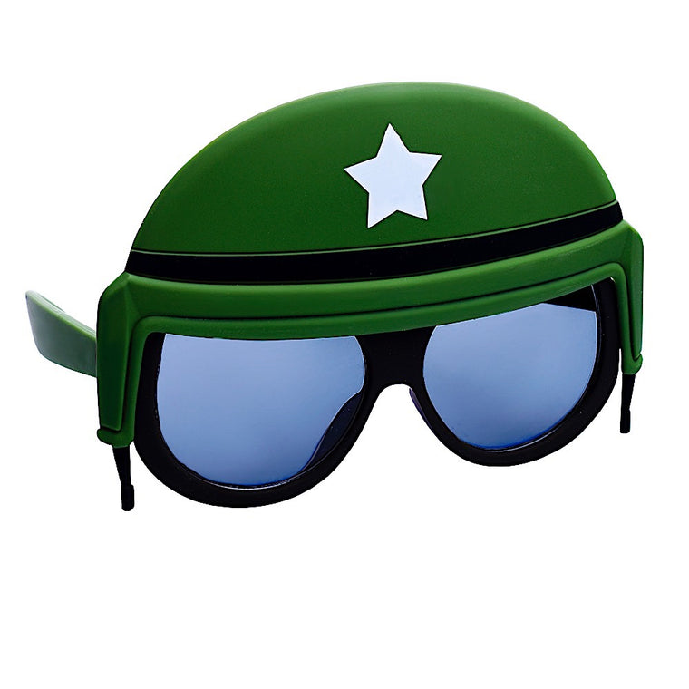 Soldier Helmet Lil Character Sun-Staches®