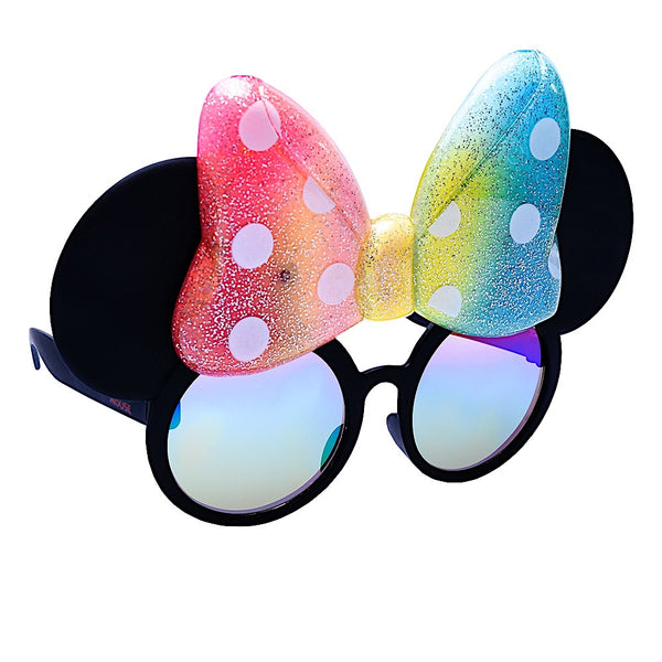 Minnie Mouse Rainbow Bow Sun-Staches®
