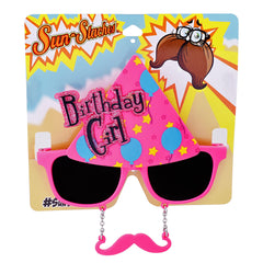 Birthday Girl Sun-Staches®