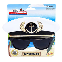 Captain's Hat Sun-Staches®