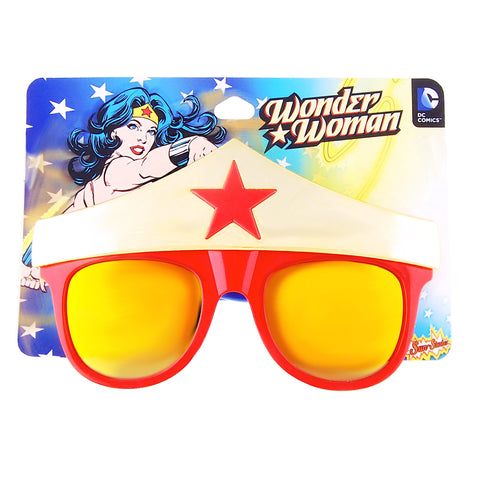 "Wonder Woman Star ""DC Comics"" Sun-Staches®"