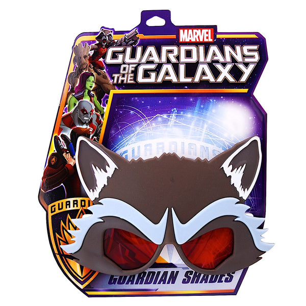 "Rocket Racoon ""Guardians of the Galaxy"" #SunStaches"