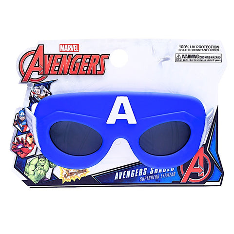 "Lil' Characters Captain America ""Marvel"" SunStaches"