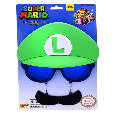 "Luigi ""Super Mario Brothers"" Sun-Staches®"