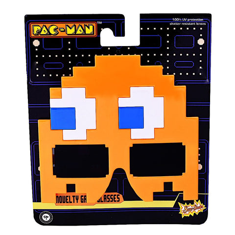 "Orange Ghost ""Pac Man"" Sun-Staches®"