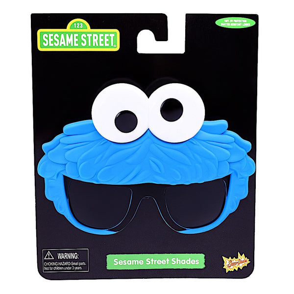 "Cookie Monster ""Sesame Street"" #SunStaches"
