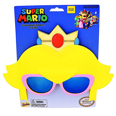 "Princess Peach ""Super Mario Brothers"" Sun-Staches®"