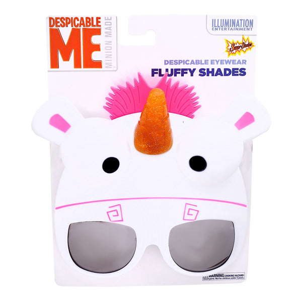 "Fluffy ""Dispicable Me"" #SunStaches"