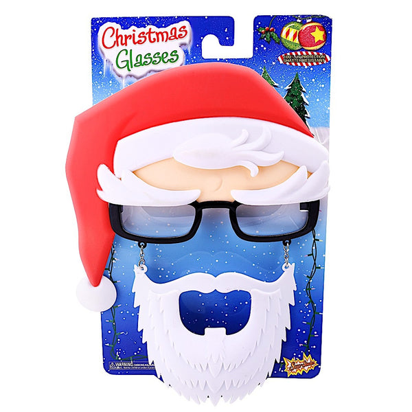Santa Black Frames #SunStaches