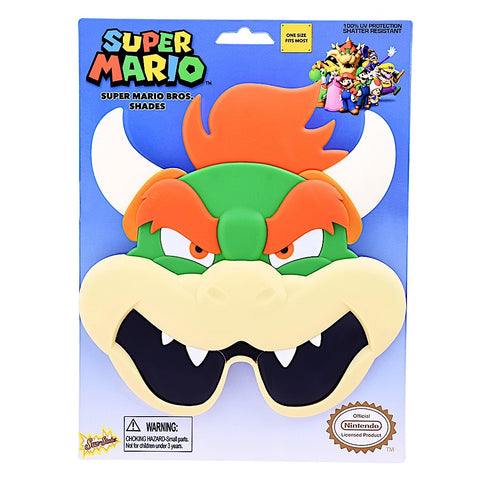 "Bowzer ""Super Mario Brothers"" Sun-Staches®"
