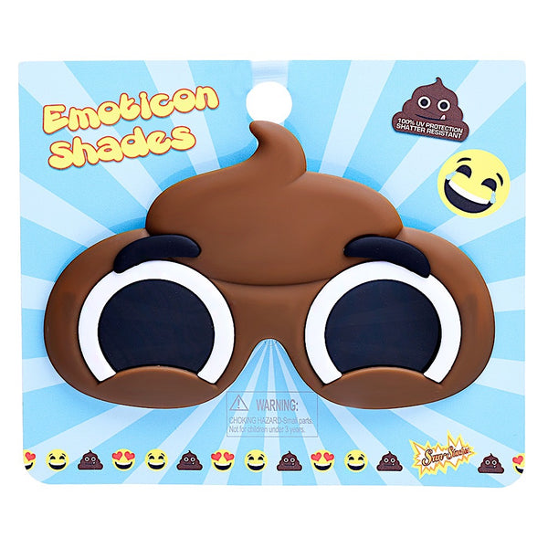 Poop Emoji Lil Character Sun-Staches®