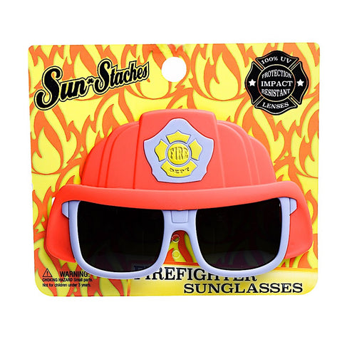 Fire Fighter Lil Character Sun-Staches