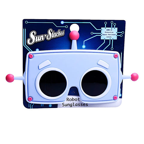Robot Lil Character Sun-Staches