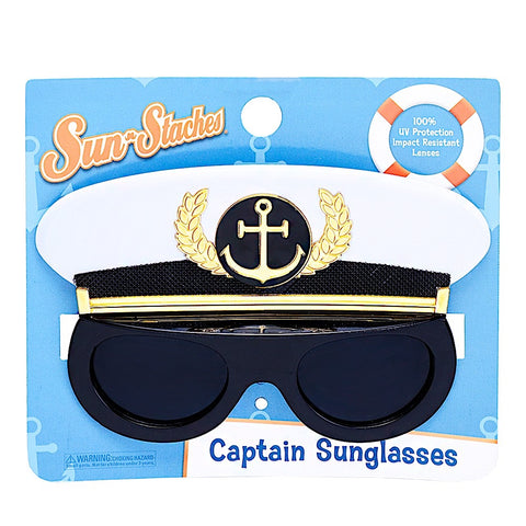 Captain's Hat Lil' Characters Sun-Staches®
