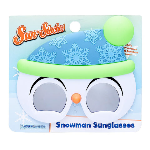 Snowman Lil' Characters Sun-Staches®