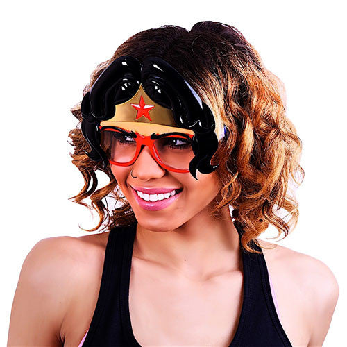 "Wonder Woman Face ""DC Comics"" #SunStaches"