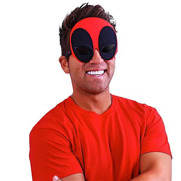 "Deadpool ""Marvel"" Sun-Staches®"