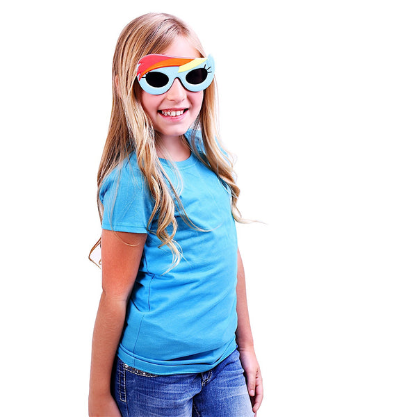 "Kids Rainbow Dash ""My Little Pony Shades"" #SunStaches"