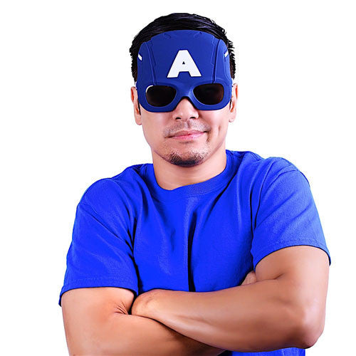 "Civil War Captain America ""Marvel"" Sun-Staches®"