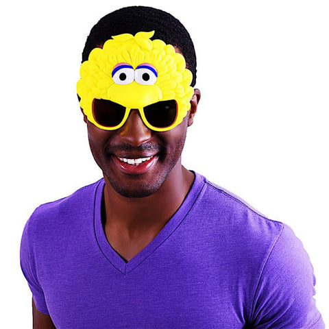 "Big Bird ""Sesame Street"" Sun-Staches®"