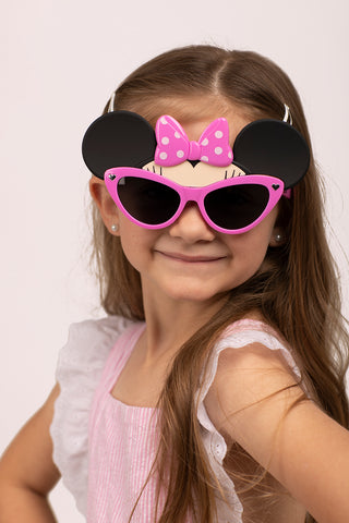 Minnie Mouse Pink Bow Lil' Characters Sun-Staches
