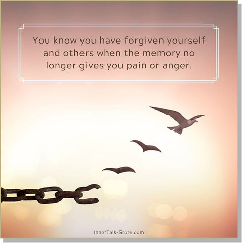 Forgiving and Letting Go
