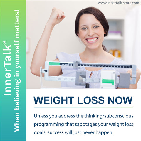 Weight Loss Now - InnerTalk subliminal self help CD and MP3 - the best! Patented! Proven! Guaranteed!