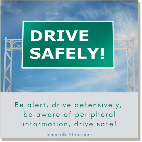 Safe Driving - InnerTalk subliminal self improvement affirmations CD / MP3 - Patented! Proven! Guaranteed! - The Best