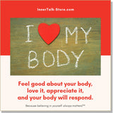 I Love My Body - InnerTalk subliminal self-improvement affirmations CD / MP3 - Patented! Proven! Guaranteed! - The Best