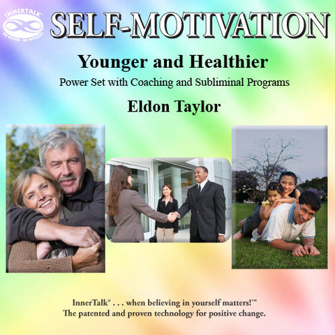 Younger and Healthier (OZO + InnerTalk subliminal self help affirmations CD)