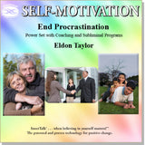 End Procrastination (OZO + InnerTalk subliminal personal empowerment affirmations CD and MP3)