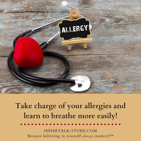 Freedom from Allergies - InnerTalk subliminal self-improvement affirmations CD / MP3 - Patented! Proven! Guaranteed! - The Best